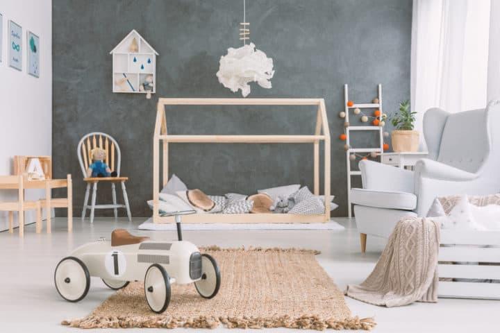 Dankzij de Voordelen van betonvloer vloerverwarming is het een ideale en warme ondergrond voor de kinderkamer
