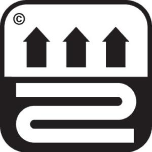 Symbool voor: Tapijt is geschikt voor Vloerverwarming