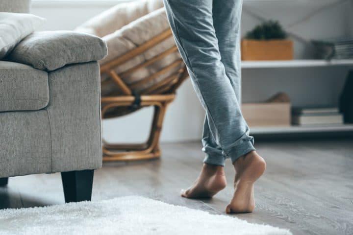 Vloerverwarming in de woonkamer