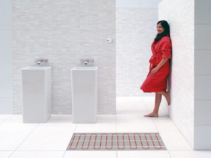 Vloerverwarming Badkamer Elektrisch : Elektrische vloerverwarming: werking voordelen advies & prijs