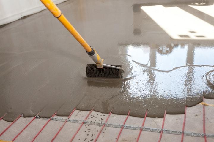 Prijs voor het aanleggen van elektrische vloerverwarmingsmatten