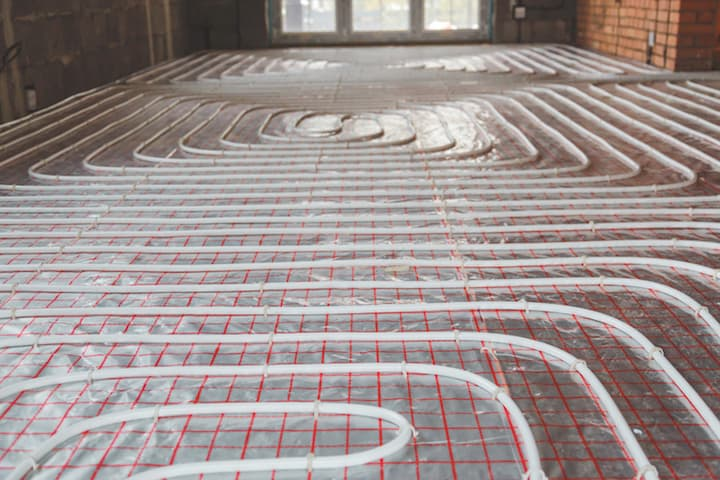 Hoe werkt vloerverwarming?