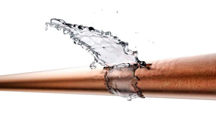 Gebroken koppeling kan oorzaak zijn van lek in vloerverwarming