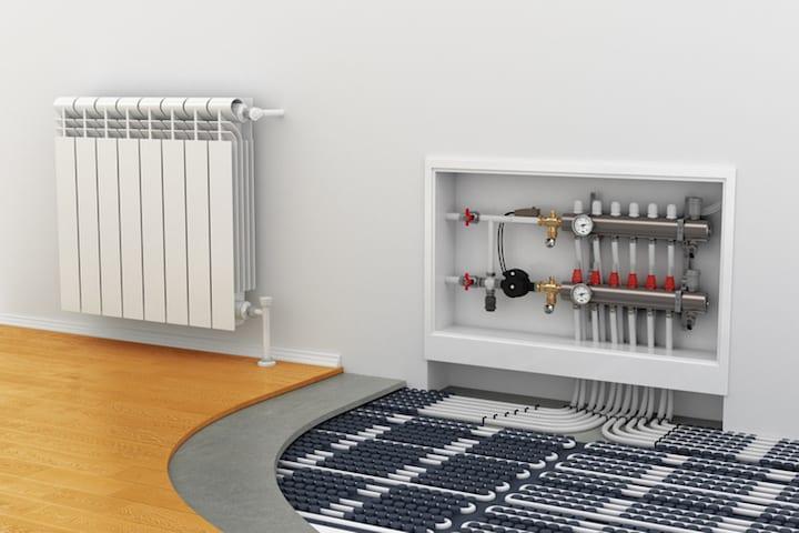 Vloerverwarming als bijverwarming gebruiken