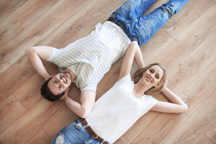 Vloerverwarming isolatie in de woonkamer, echte luxe!