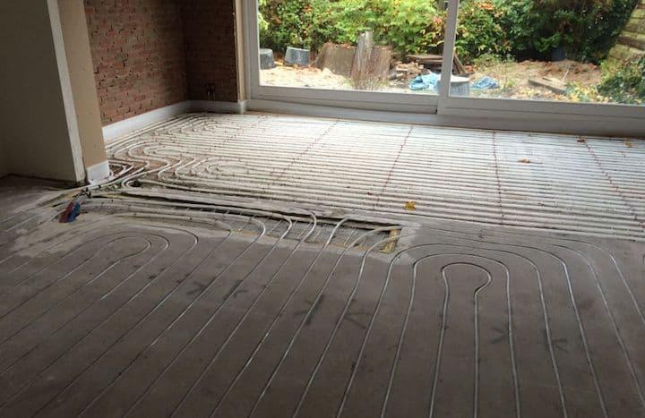 Vloerverwarming infrezen heeft vele voordelen - © Konfort Montage BV