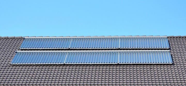 Moderne Zonneboiler Vloerverwarming